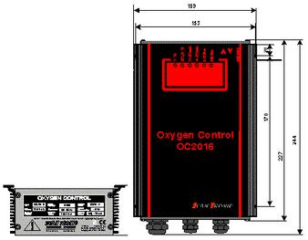 Oxygen Control OC 2016 - oxygen controller